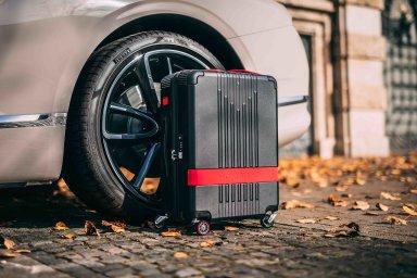 Montblanc se spojil s Pirelli a uvedl limitovanou edici cestovních zavazadel