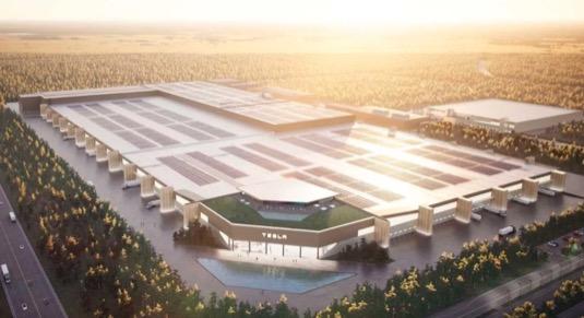 Tesla začne první elektromobily v gigafactory Berlín vyrábět už v říjnu, doufá Musk