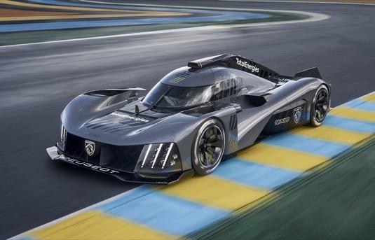 Peugeot 9X8: nový hypersport pro vytrvalostní závody s hybridním pohonem