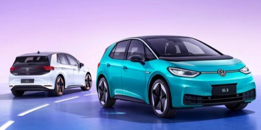 Elektromobil Volkswagen ID.3 bude v Číně ještě tento rok