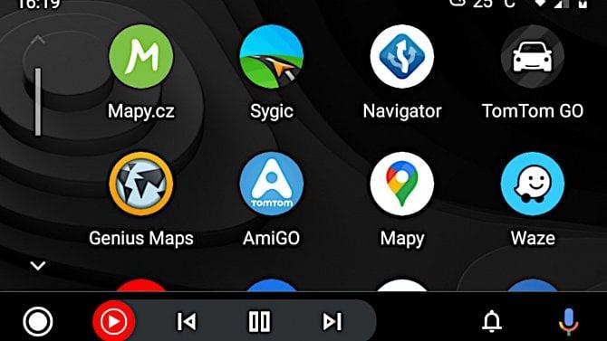 Android Auto: praktický test šesti navigací