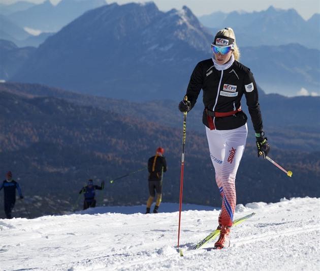 Schützová vyhrála Světový pohár na kolečkových lyžích, na MS byla opět čtvrtá
