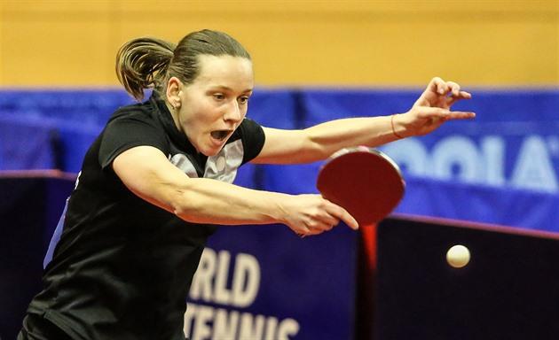 Stolní tenistka Matelová se na turnaji Top 16 probojovala do semifinále