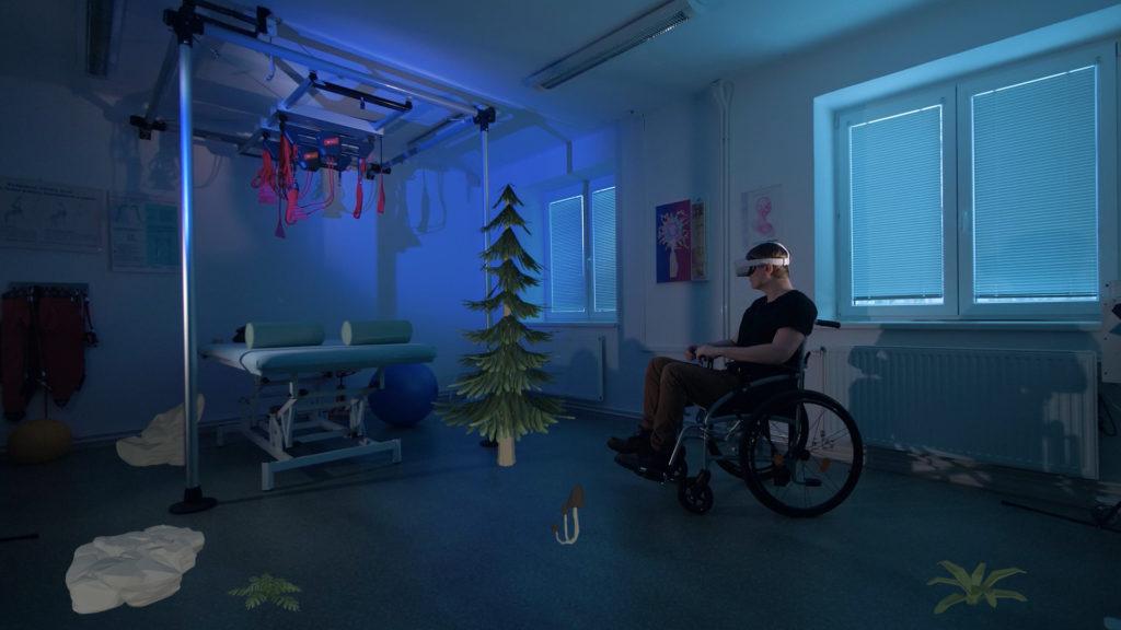 Rehabilitace v jiném světě. V ostravské firmě VR Life ji umístili do virtuální reality