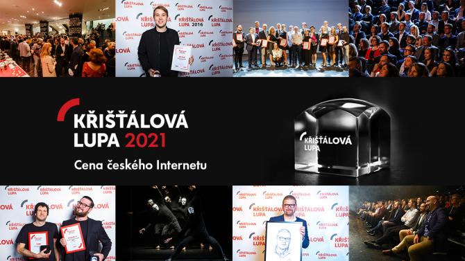 Hlasování vKřišťálové Lupě 2021odstartovalo. Podpořte nejlepší weby a projekty!