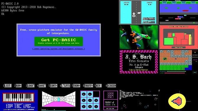 PC-BASIC: reinkarnace populárního izatracovaného GW-BASICu