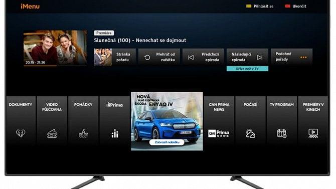 Prima nasadila novou verzi svého videoarchivu v HbbTV