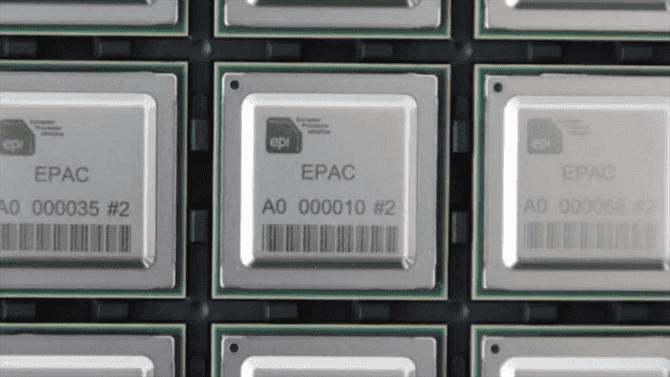 Evropský procesor EPAC má po nabootování Linuxu první testovací vzorky