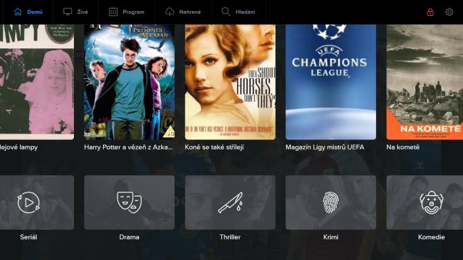 Telly vylepšila webový přehrávač a aplikaci pro LG TV