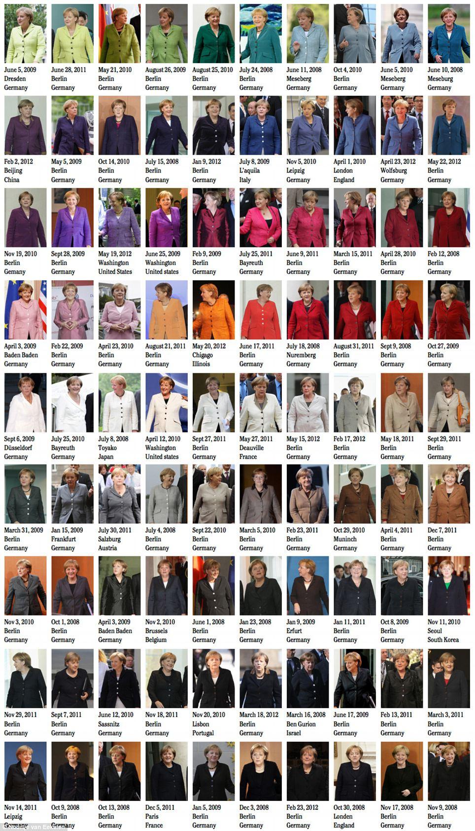 Barevná diplomacie Angely Merkel aneb co má odcházející kancléřka společného skrálovnou