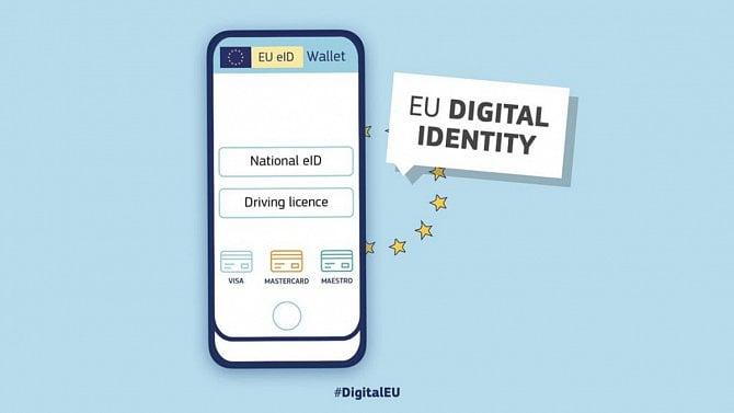 Evropské peněženky digitální identity budou průkazem inosičem současně