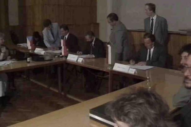 30 let zpět: První schůze ministrů práce a sociálních věcí Visegrádské trojky
