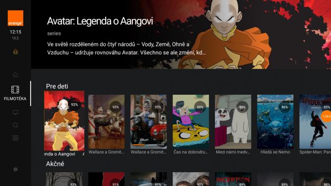Trendy: Orange přechází vzahraničí na Android TV