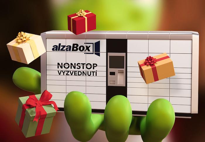 Alza se ve své vánoční kampani rozhodla Alzáka upozadit