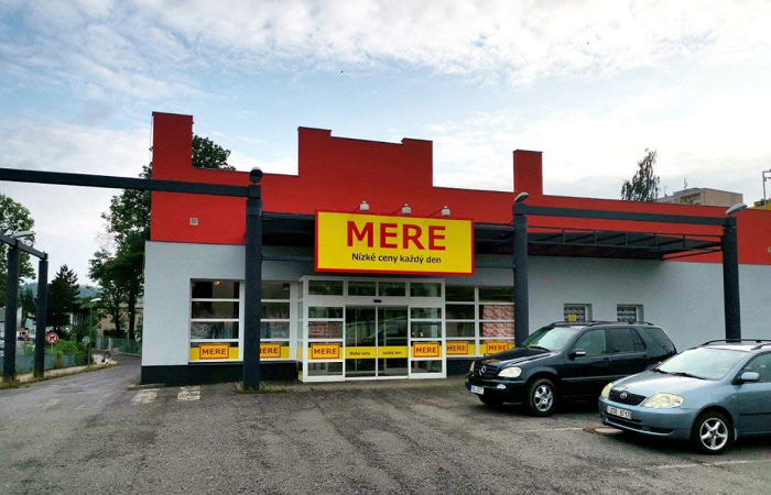 Na český trh vstoupil ruský maloobchodní řetězec Mere