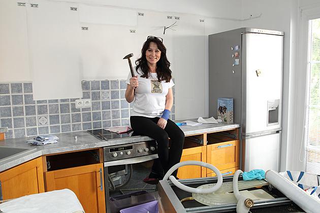 Heidi Janků má po dvaceti letech konečně novou elegantní kuchyň