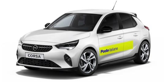 Italská pošta si objednala 1744 elektromobilů Opel Corsa-e
