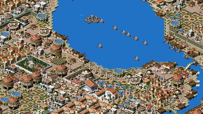 Strategická hra Augustus má velkou aktualizaci, Sonic na enginu Doom