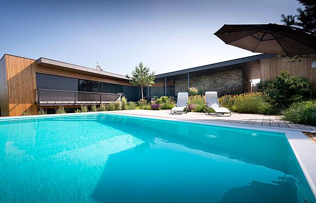 Architekt splnil majiteli sen o dokonalém domě se zelenou střechou