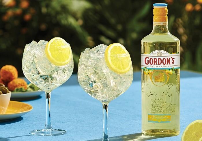 Gordon's uvede kampaní nový gin se sicilskými citróny