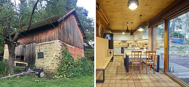 Rodina si pro život vybrala stodolu v Českém ráji. Parádně ji přestavěla