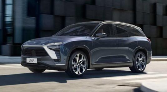 Čínský elektromobil NIO ES8 se může začít prodávat v Evropě
