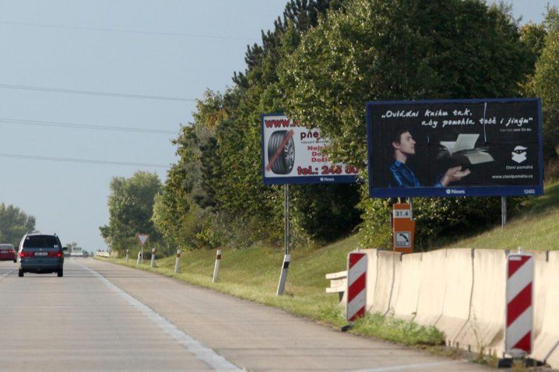 V kauze pronájmů reklam u dálnic soud trestal podmínkami