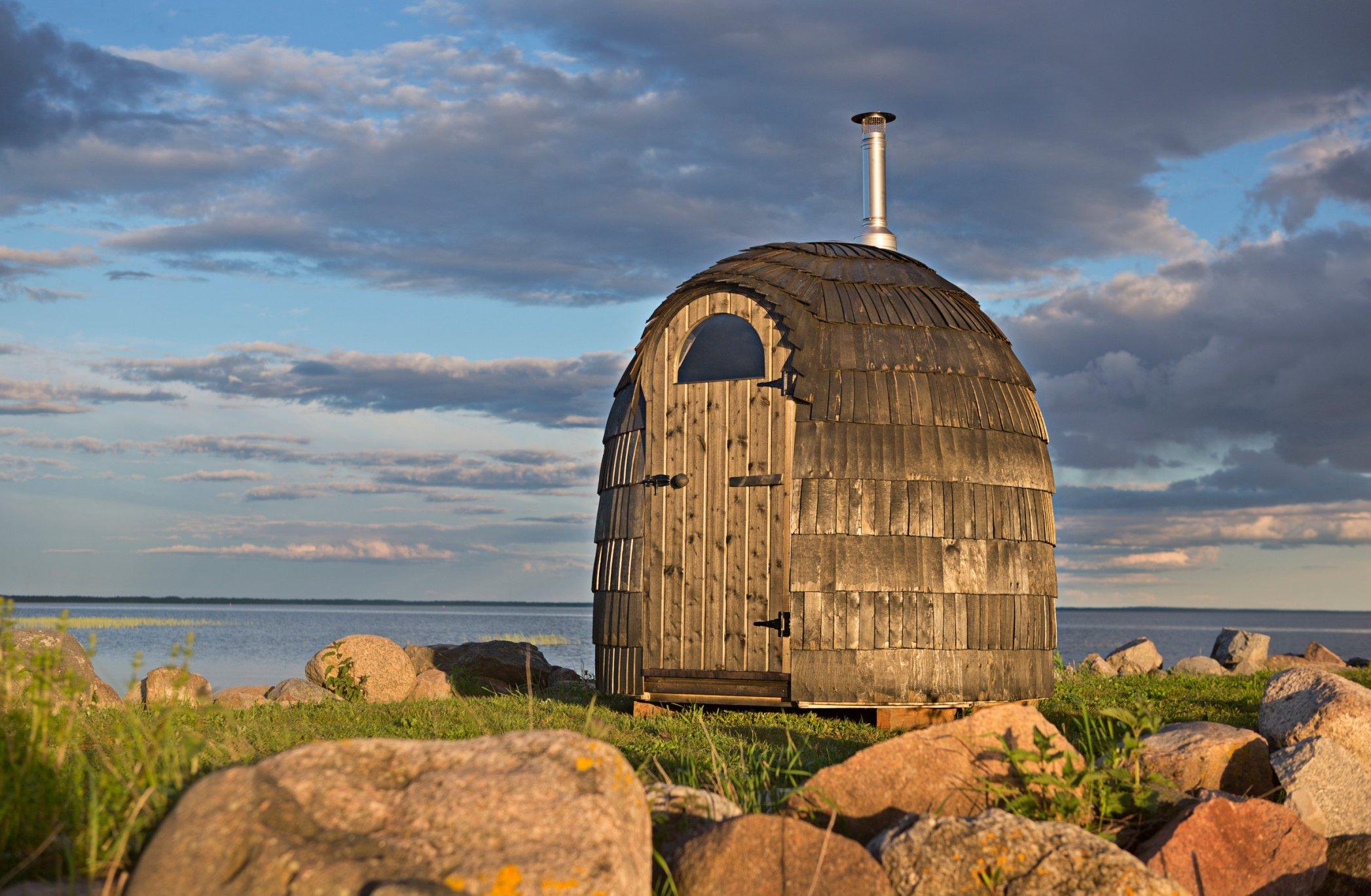 Co takhle chatu nebo saunu ve tvaru iglú? Oblíbil si je iBeckham