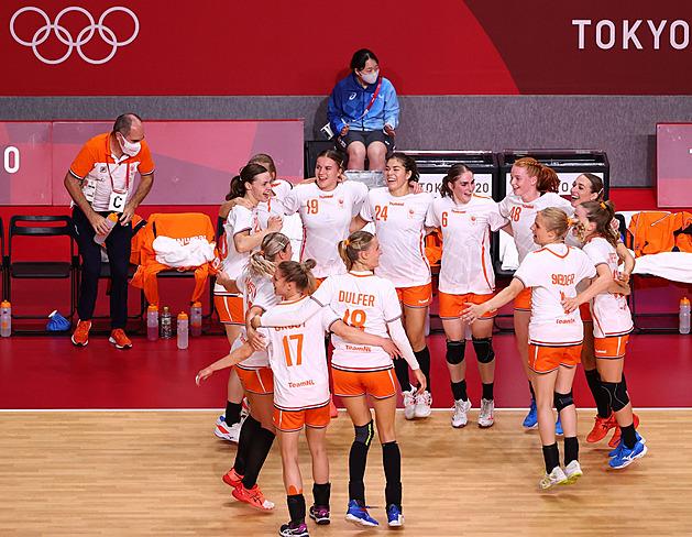 Házenkářky Nizozemska a Norska už mají jisté olympijské čtvrtfinále